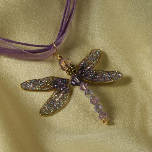 Dragonfly Pendant with cord