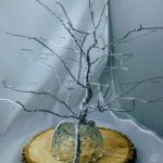Aluminum-wired-display-tree