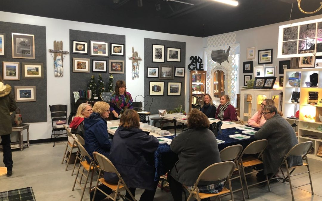 Aromatherapy Jewelry Class at Artisans Corner Gallery