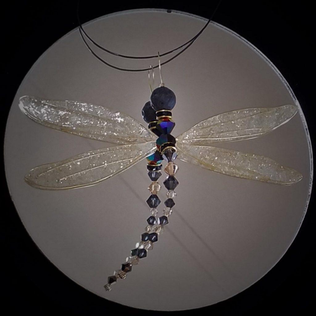 Aromatherapy Swarovski Dragonfly Diffuser