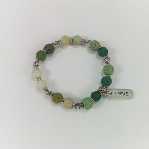Lava Rock Aromatherapy Bracelet