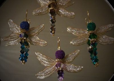 Dragonfly Aromatherapy Pendants (S)